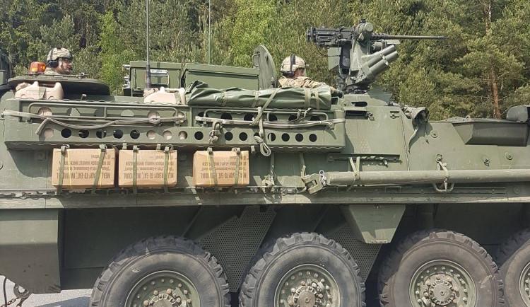 FOTOGALERIE: V sobotu projel Vysočinou konvoj americké armády