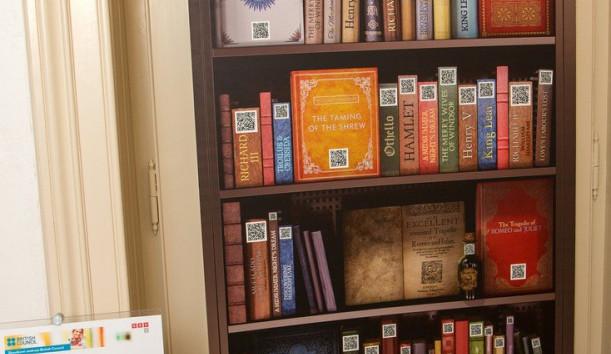 Vysoká škola polytechnická Jihlava otevřela knihovnu Williama Shakespeara, jako jedinou v kraji