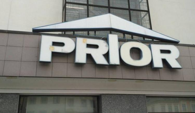 Jihlavský Prior prochází rekonstrukcí, spodní patro nově obsadí prodejna s elektrem