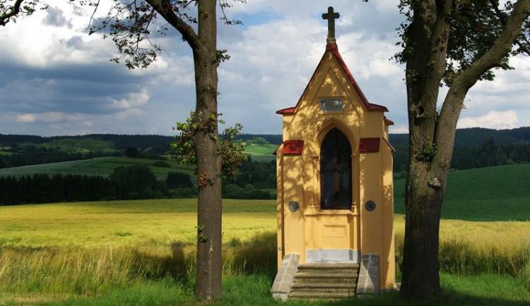 Kaplička Panny Marie u Hodic se stala novou kulturní památkou Vysočiny