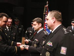 Policisté z Vysočiny převzali služební medaile. Dva obdrželi Medaili Za zásluhy a bezpečnost