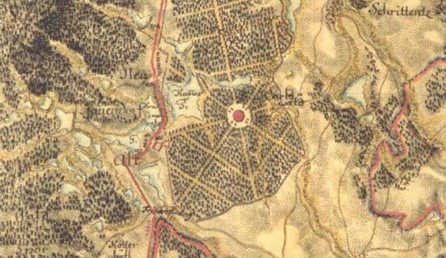 DRBNA HISTORIČKA: Pracujete v Boschi nebo Lightingu? Na stejném místě kdysi stával pověstný Karlův zámeček