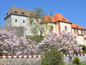 Hrad Kámen o příštím víkendu otevře své zahrady. Lidé zažijí komentované prohlídky