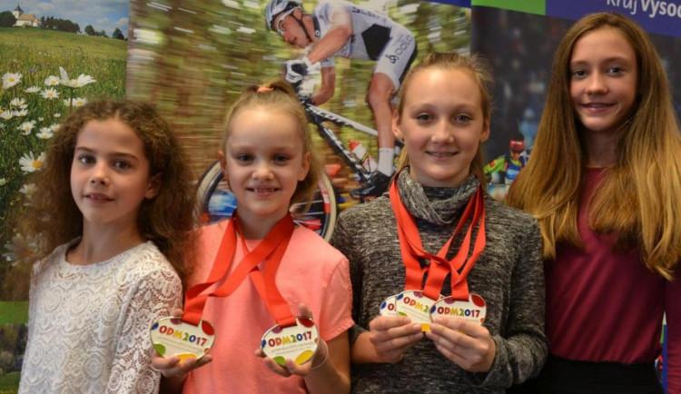 Děti z Vysočiny si zvykají na olympijské úspěchy. Jejich reprezentaci a píli ocenili na kraji
