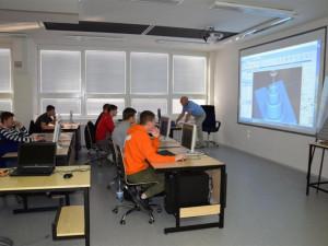FOTO: Třebíčská průmyslovka má sedm nových učeben. Za rok jich bude ještě třikrát víc