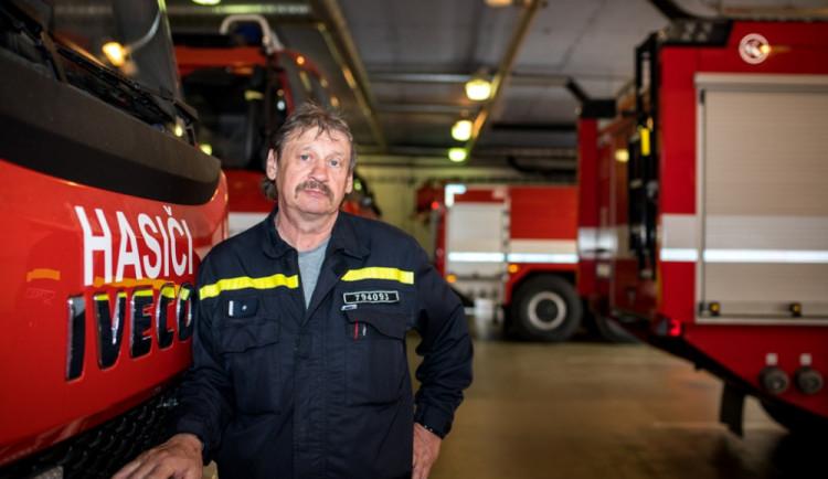 (NE)OBYČEJNÍ: Na svůj první výjezd vzpomínám dodnes, říká jihlavský profesionální hasič
