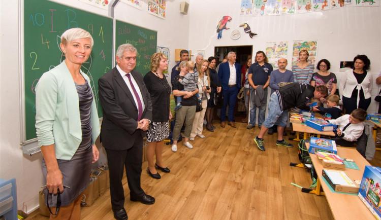 Jihlavský primátor zahájil školní rok na ZŠ T. G. Masaryka. Krajské město má 590 prvňáčků