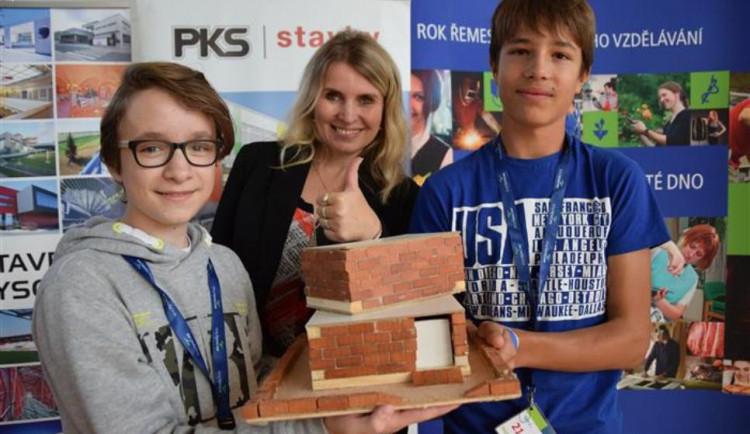 Vítězi druhého ročníku soutěže Cihla k cihle jsou Ondra a Honza ze Žďáru