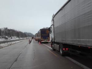 Odstraňování svodidel na dálnici D1 u Humpolce začne v pátek večer