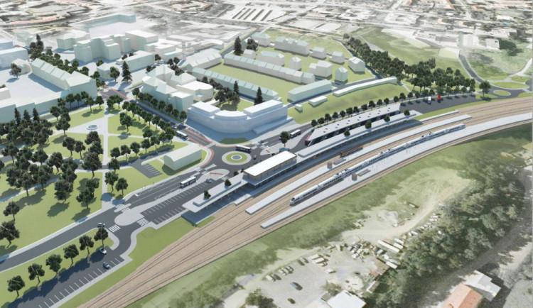 Přípravu centrálního dopravního terminálu v Jihlavě zdržel výběr projektanta
