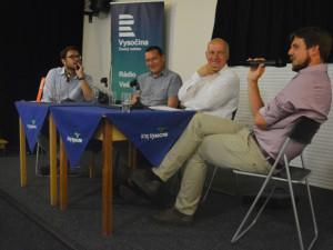 Na Letní žurnalistickou školu přijelo do Havlíčkova Brodu na pět desítek mladých lidí