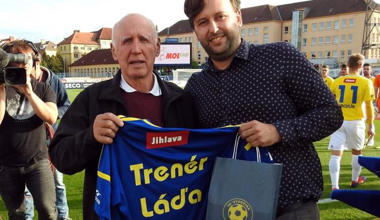 S trenérskou kariérou se loučil Ladislav Novický, jihlavská trenérská legenda