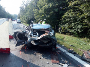 Kvůli dopravním nehodám zemřelo na Vysočině 41 lidí. Loni bylo o sedm obětí méně