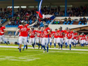 Jihlavu v neděli čeká špičkový americký fotbal. Česká reprezentace vyzve mistry Evropy z Francie