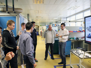 V jihlavském Boschi proběhl High-Tech Day. Studenti poznali firmu, výrobu a moderní technologie
