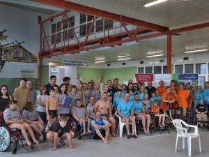 Handicapovaní plavci z jihlavského klubu Vodomílek se blýskli na domácích závodech
