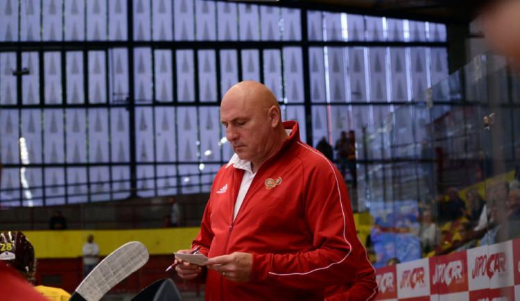 U jihlavské Dukly končí trenér Petr Vlk. V klubu strávil více než 25 let