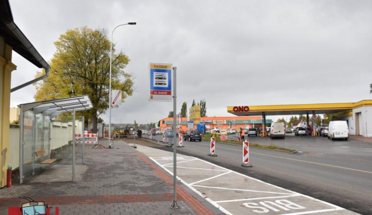 Křižovatka Žižkova – Rantířovská se u benzínky uzavře. Práce na silnici ovlivní i MHD