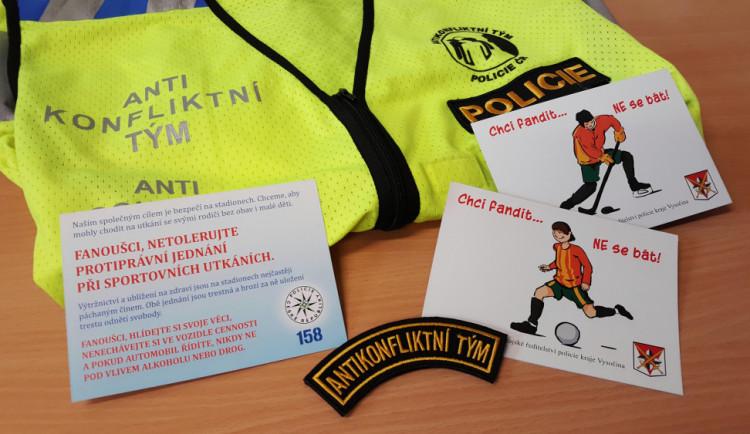 Chci fandit… NE se bát: Lidé na sportovních zápasech dostanou preventivní kartičky
