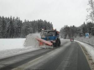 Silničáři Vysočiny budou moci použít sůl i na silnicích u Svratky. Mají kolem 21 tisíc tun posypu