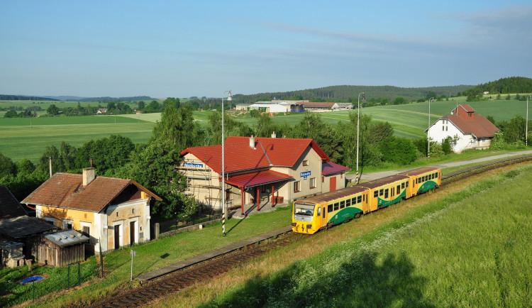 Vysočina má nejkrásnější nádraží v ČR! Titul získávají Rozsochy na Žďársku