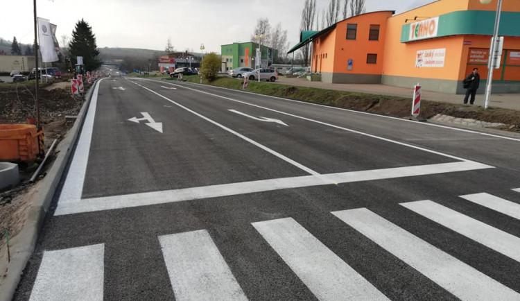 FOTO: Opravovaná křižovatka nedaleko jihlavského hřbitova už je zase průjezdná
