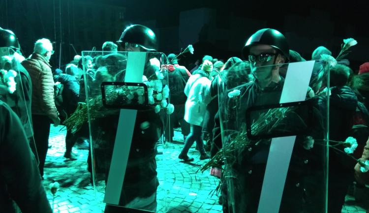 FOTOGALERIE: Jihlava si dneska připomněla třicet let od sametové revoluce