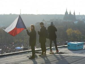 FOTO: Protesty budou pokračovat, když Babiš nevyhoví Milionu chvilek