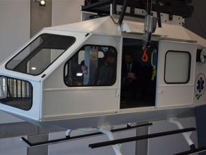 Záchranáři z Vysočiny mají nové výcvikové středisko. Je v něm třeba i torzo vrtulníku