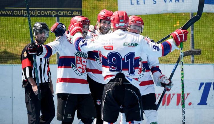 Jihlavští hokejbalisté zakončili podzim prohrou v Přelouči, v první lize jim patří slušné páté místo