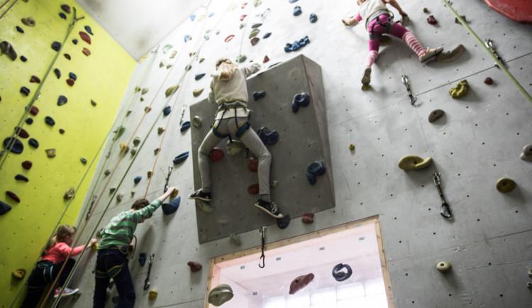 V sobotu proběhne v jihlavském lezeckém centru tradiční závod dětí vlezení na obtížnost