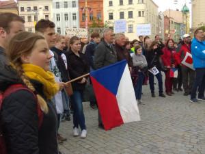 Demonstranti kritizovali i pravicové politické strany. Jihlava plánuje protest ve čtvrtek
