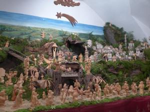V Třešti se dnes veřejnosti znovu otevřela Betlémská cesta, lze vidět až šestnáct betlémů