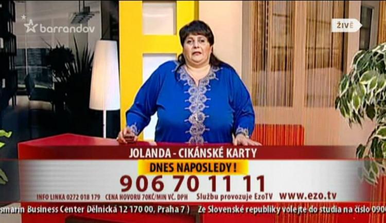 Po dlouhé nemoci zemřela legendární věštkyně Jolanda