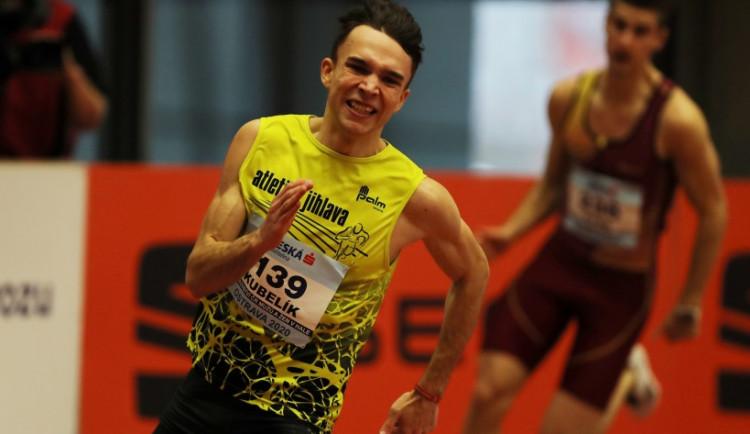 Udělám vše pro to, abych se dostal na olympiádu, říká sprinter z Třeště Eduard Kubelík