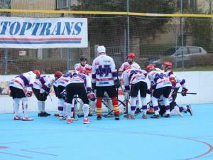Jihlavští hokejbalisté si poradili s Malenovicemi. O víkendu je čeká náročný zápas v Brně