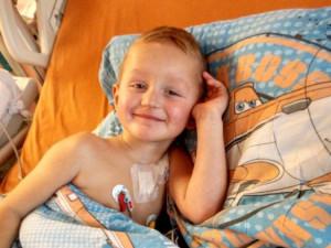 Ondra z Telče bojuje s Burkittovým lymfomem. Stále ještě nemůže za kamarády do školky
