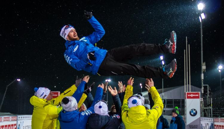 Šlesingr se v Novém Městě rozloučil s kariérou. Mrzí ho, že nemá medaili z olympiády