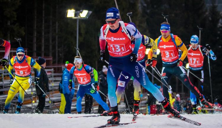 Poslední závod v biatlonu v Novém Městě vyhrál Bö. Češi skončili ve druhé desítce