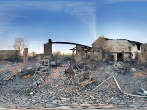 Noční požár stodoly v Častrově způsobil milionové škody