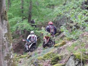 Motorkáři se proháněli po přírodní rezervaci, policie žádá o pomoc při pátrání