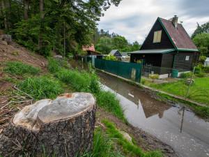 Deště zneprůjezdnily cyklostezku do Luk, od pondělí bude kvůli opravě uzavřena