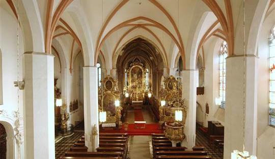 Nominaci na cenu památkářů získal jihlavský kostel svatého Jakuba Většího