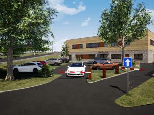 FOTO: Konečně. Stavba prvního lůžkového hospice v kraji by měla začít v roce 2021