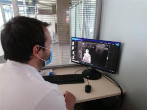Dvacítka termokamer v nemocnicích a domovech pro seniory ohlídá tělesnou teplotu