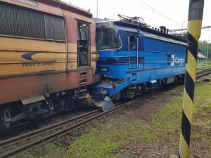 Kolize na jihlavském nádraží způsobila škodu 7,3 milionu korun. Provoz je částečně obnovený