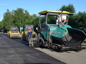 Na silnici I/19 dnes začaly opravy. Řidiči budou využívat jeden jízdní pruh