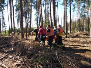 Záchranáři na Vysočině často zasahují u houbařů v lese. Lidé přeceňují svoje síly