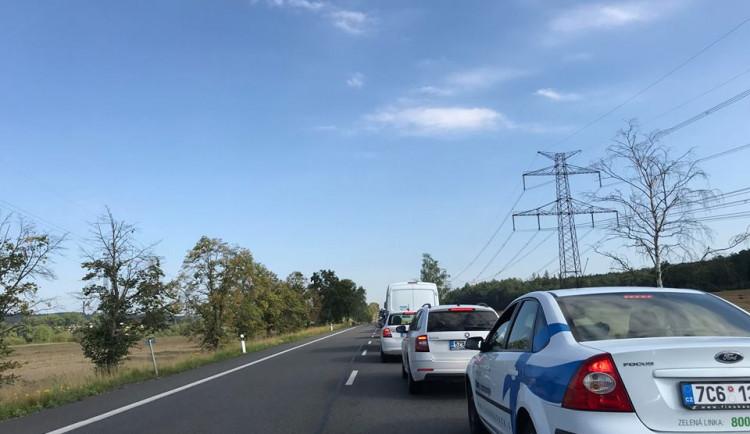 Na hlavním tahu I/19 do Havlíčkova Brodu skončila jedna ze dvou uzavírek
