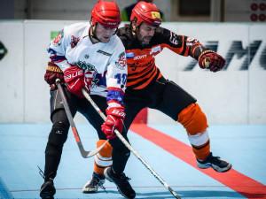 Jihlavské hokejbalové derby ovládl SK, městského rivala Flyers porazil 5:2